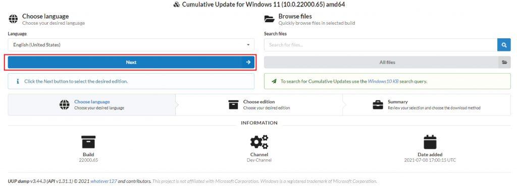 Hướng dẫn tải Window 11 file .ISO nguyên gốc từ Microsoft-01
