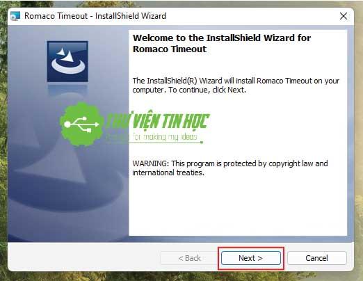 Phần mềm quản lý thời gian sử dụng máy tính Romaco Timeout