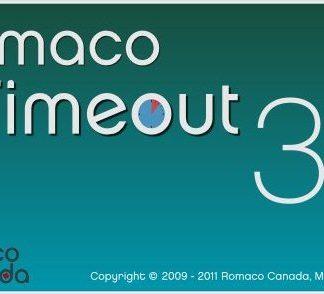 Phần mềm quản lý thời gian sử dụng máy tính Romaco Timeout (10)321-0tile