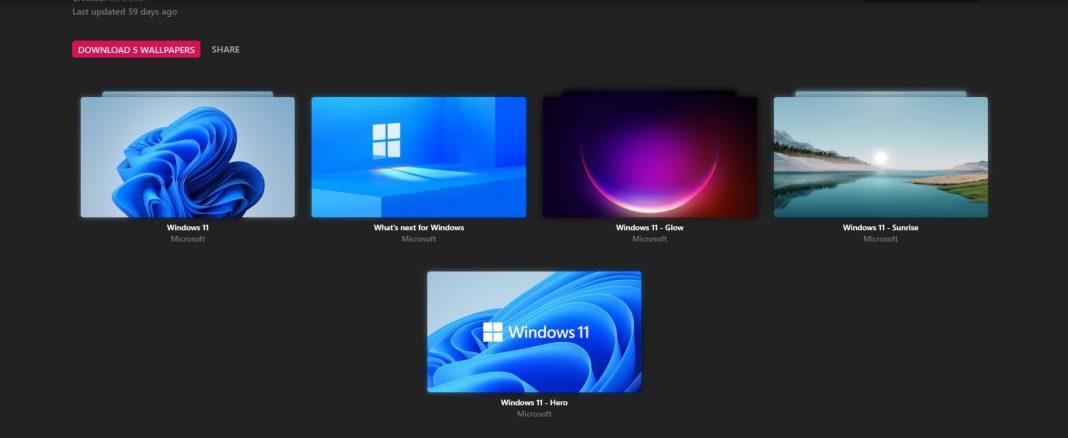 Windows 11 Wallpapers chất lượng 4K