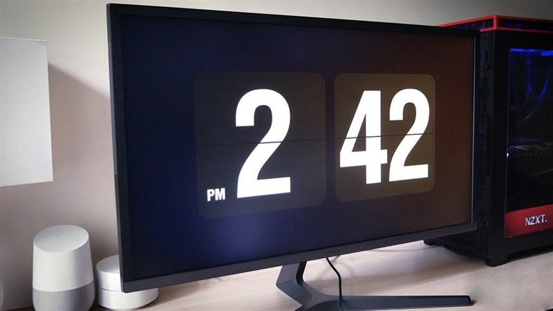 Cài nền chờ bằng đồng hồ với Fliqlo Flip Clock trên Windows