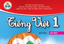 Tải Sách Môn Tiếng Việt lớp 1
