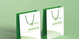 Paper bag Mockup Free | Mockup túi giấy miễn phí